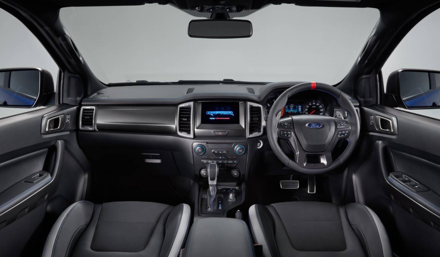 2018 ford ranger raptor interior. Black Bedroom Furniture Sets. Home Design Ideas