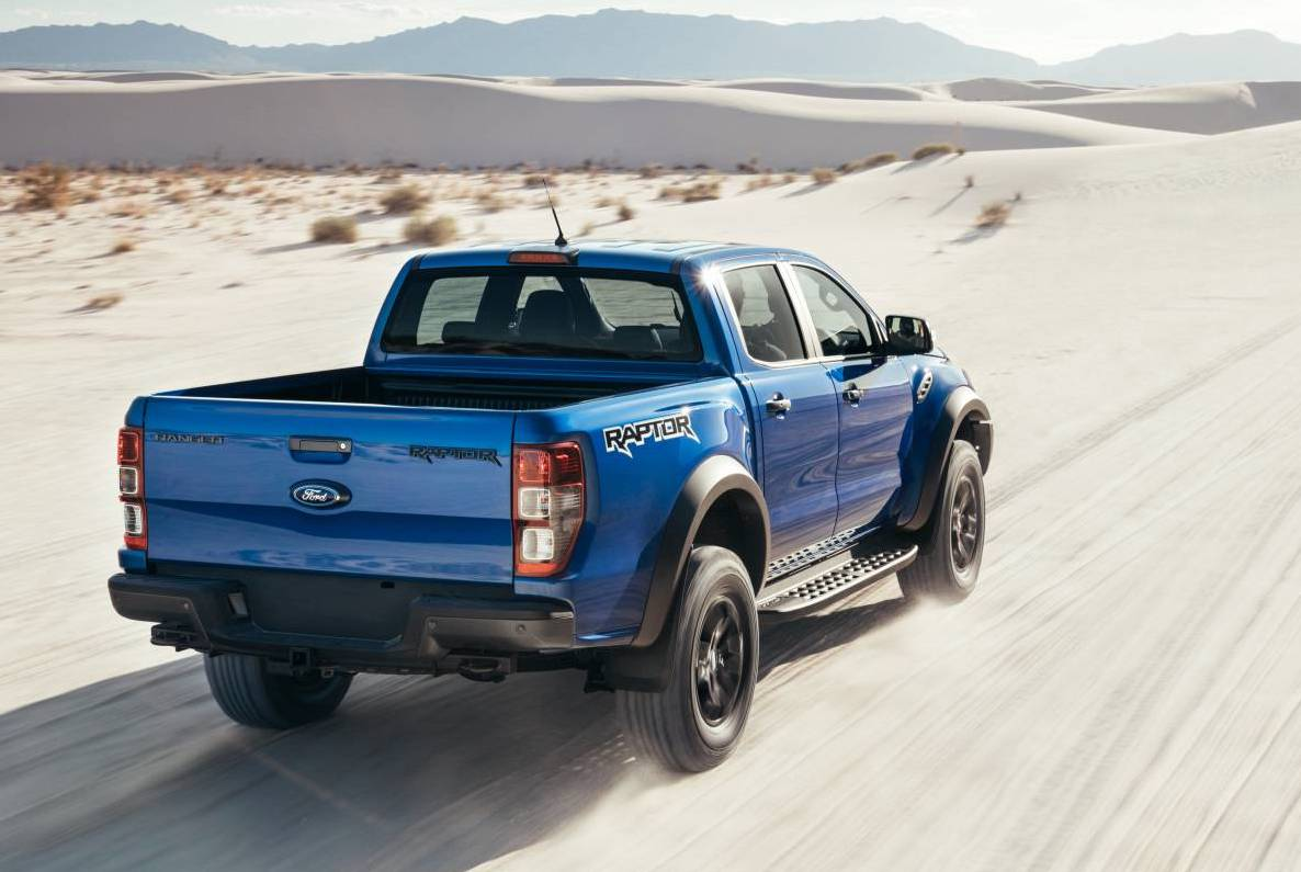 2018 ford ranger raptor unveiled gets 2 0tt with 10 spd performancedrive. Black Bedroom Furniture Sets. Home Design Ideas