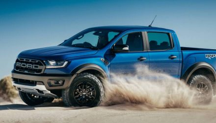 2018 Ford Ranger Raptor unveiled, gets 2.0TT with 10-spd