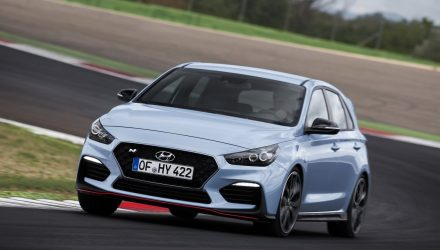 2018 Hyundai i30 N on sale in April from $39,990