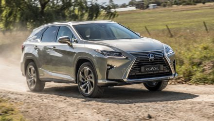 Lexus RX 350L & 450hL 7-seater SUVs now on sale in Australia