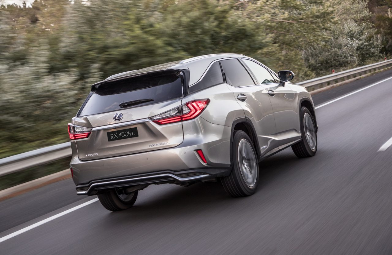 Lexus RX 350L Amp 450hL 7 Seater SUVs Now On Sale In