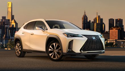 Lexus UX exterior revealed before Geneva debut (video)