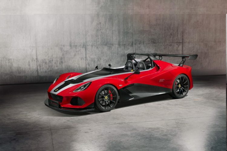 Lotus' adieu to the 3-Eleven is a powerful special edition