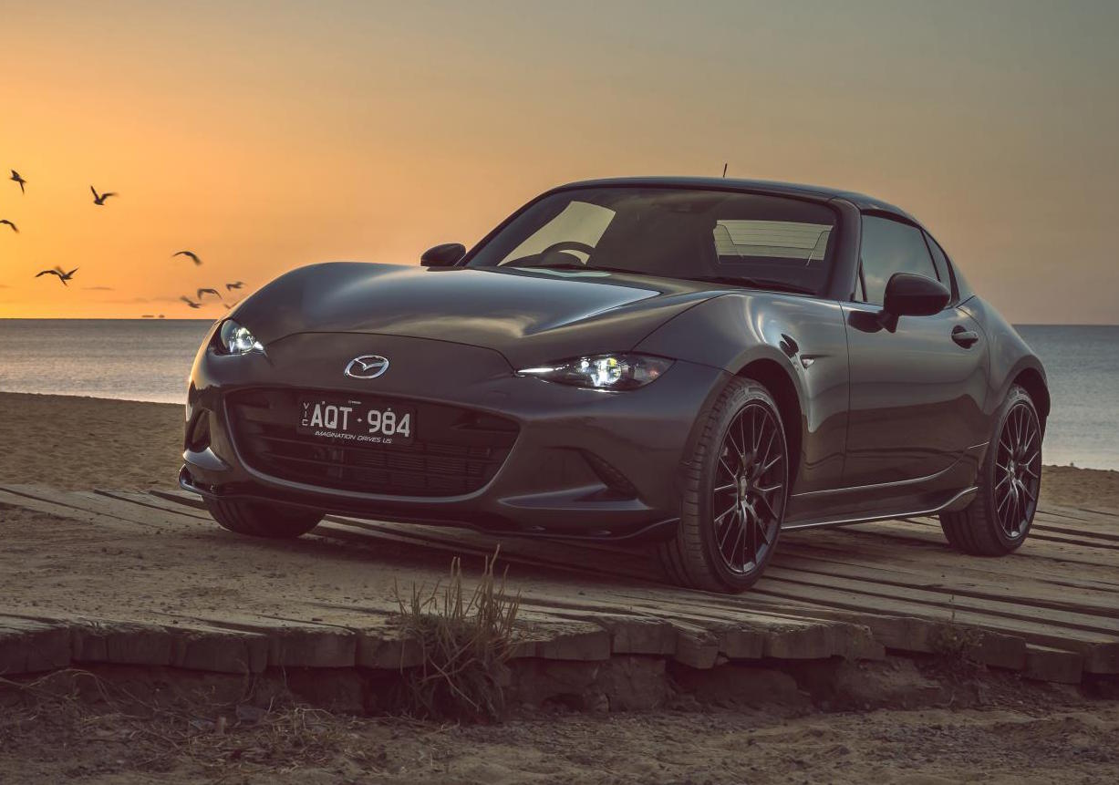 mazda mx 5 rf limited edition now on sale in australia performancedrive. Black Bedroom Furniture Sets. Home Design Ideas