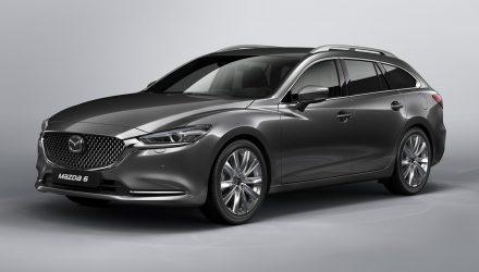2018 Mazda6 Tourer wagon revealed before Geneva debut
