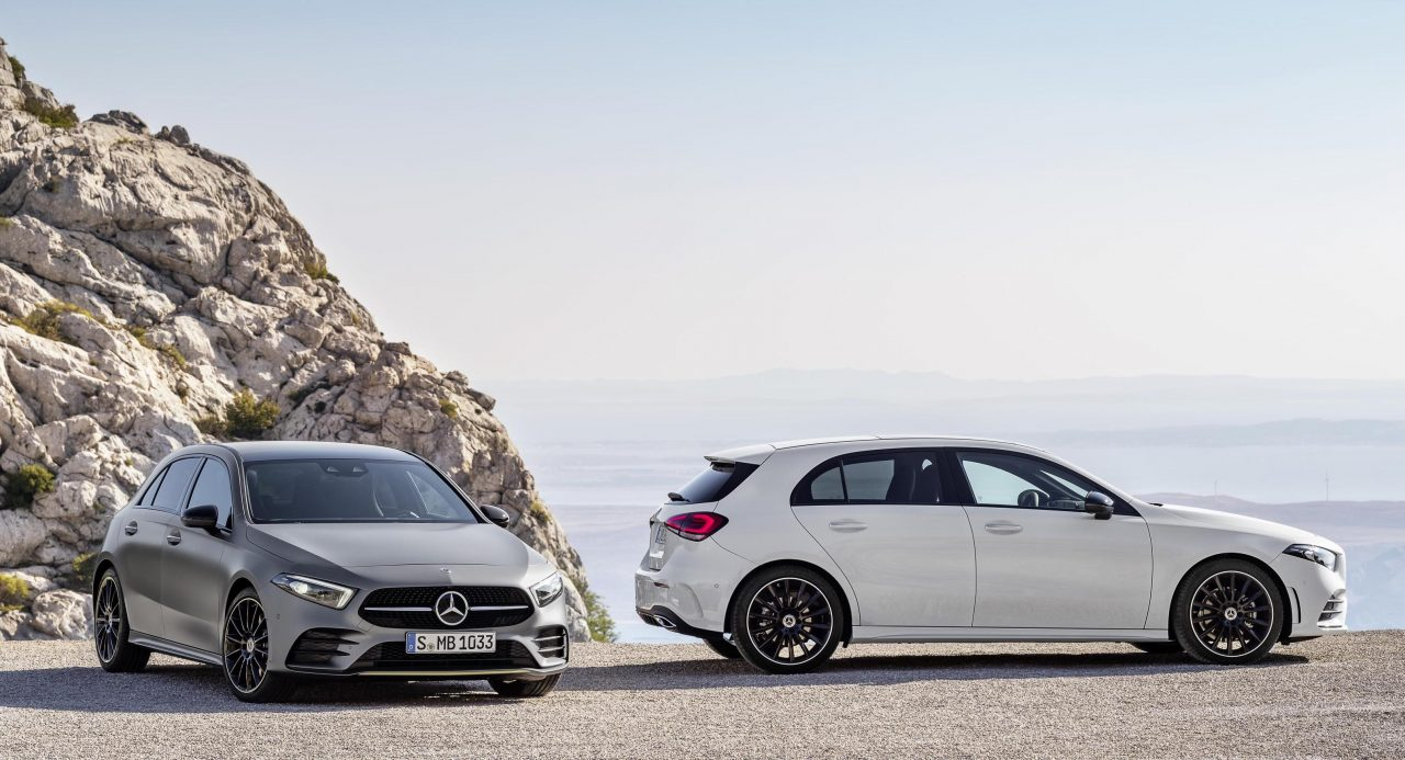 2018 mercedes benz a class revealed with all new design
