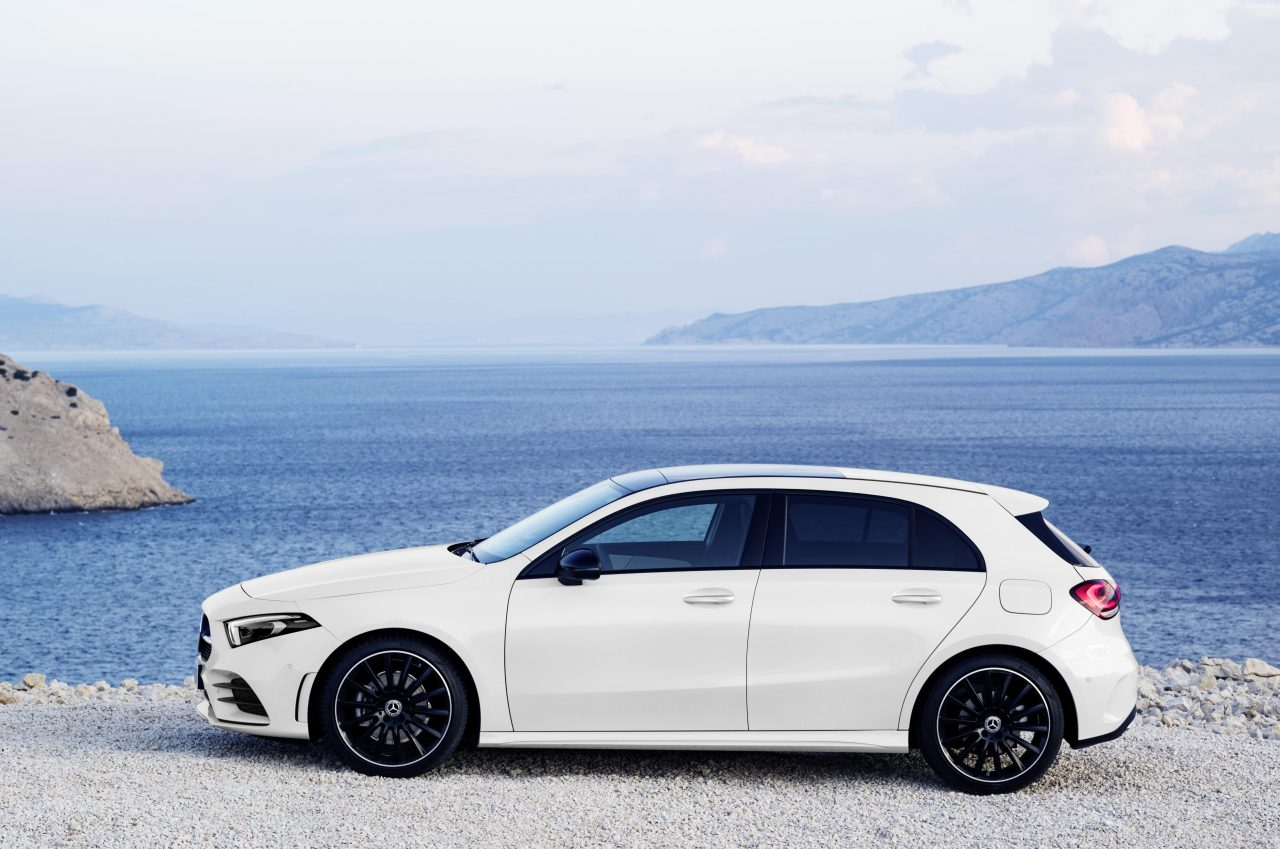 2018 mercedes benz a class revealed with all new design performancedrive. Black Bedroom Furniture Sets. Home Design Ideas