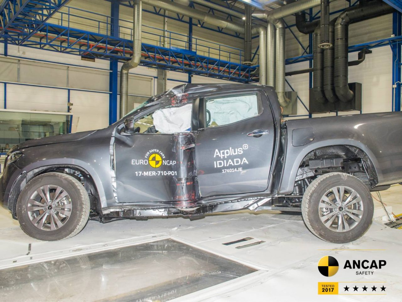 2018 Mercedes-Benz X-Class scores 5-star ANCAP safety rating ...