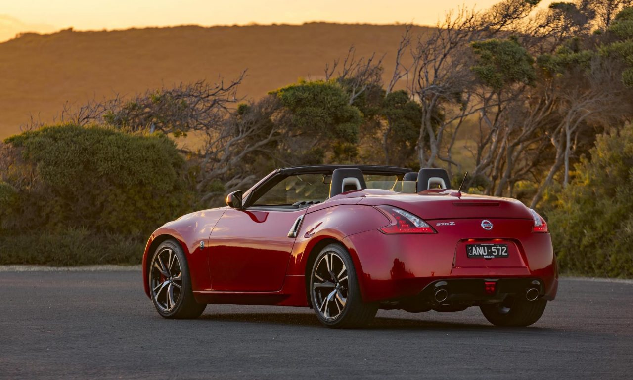 2018 nissan 370z update now on sale in australia performancedrive. Black Bedroom Furniture Sets. Home Design Ideas