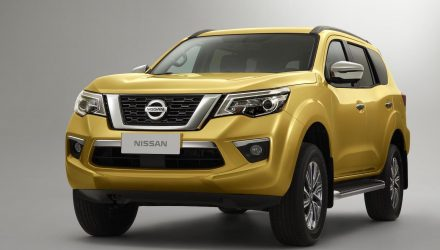 2018 Nissan Terra officially revealed, Navara-based SUV for Asia