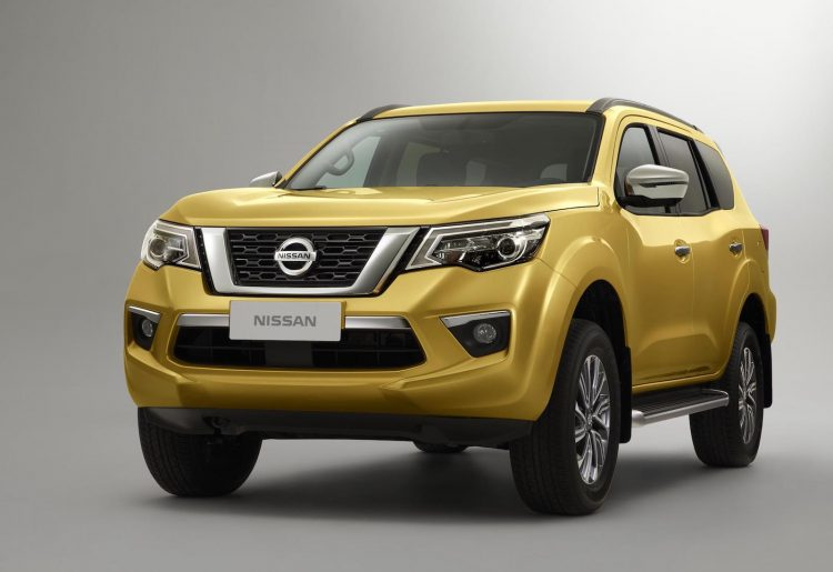Nissan Reveals The First Look Of The Upcoming SUV Terra