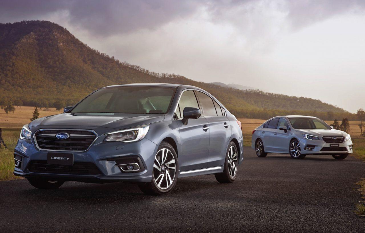 2018 Subaru Liberty Update Now On Sale In Australia Performancedrive
