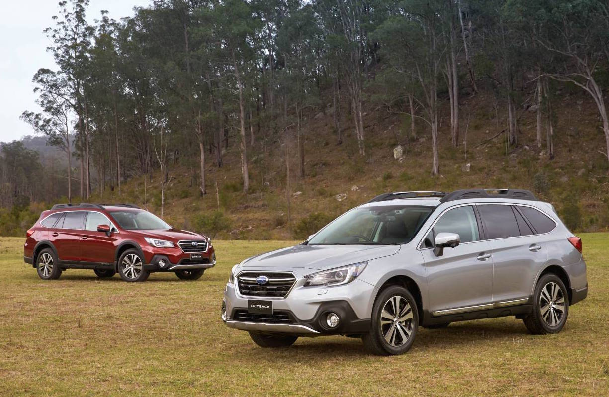 2018 subaru outback update now on sale in australia performancedrive. Black Bedroom Furniture Sets. Home Design Ideas