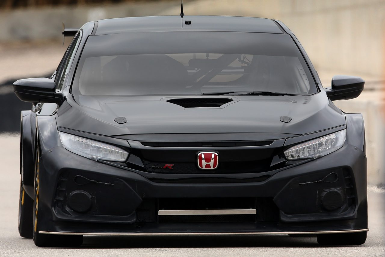 2018 honda civic type r btcc racing car unveiled. Black Bedroom Furniture Sets. Home Design Ideas