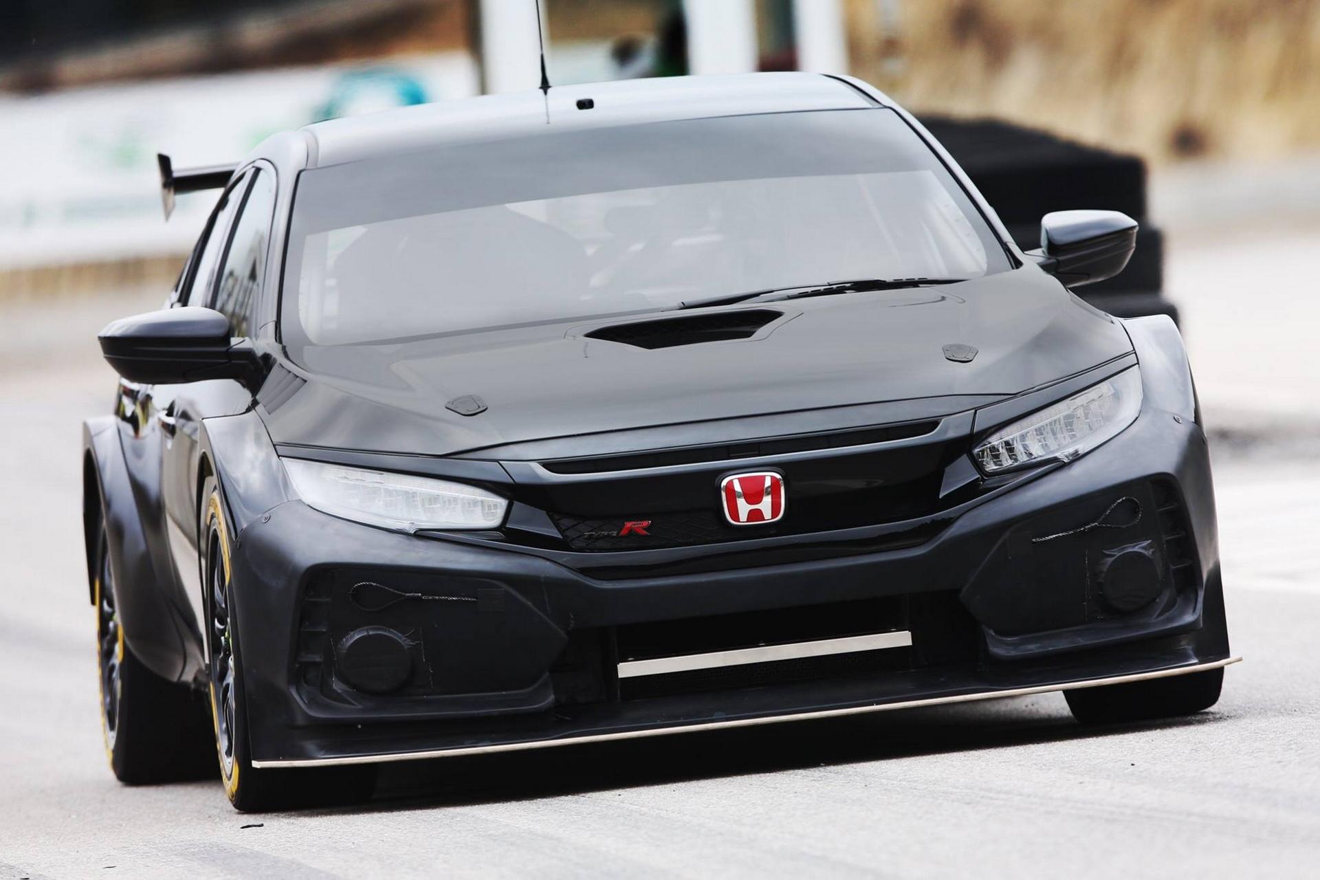 2018 honda civic type r btcc racing car unveiled