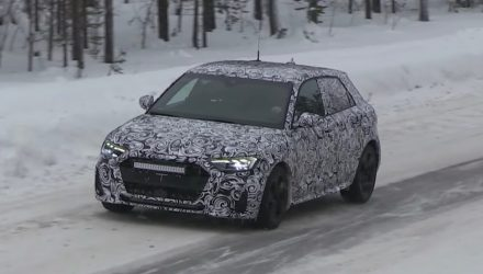 2019 Audi A1 spotted in the wild, adopts MQB platform (video)