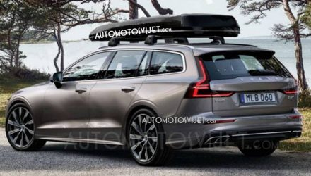 2019 Volvo V60 officially previewed, leaked images show design (video)