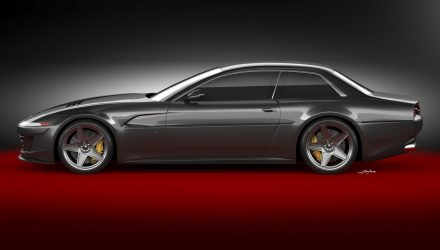 Ares Design envisages modern Ferrari 412, based on GTC4Lusso