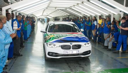 BMW 3 Series production Rosslyn