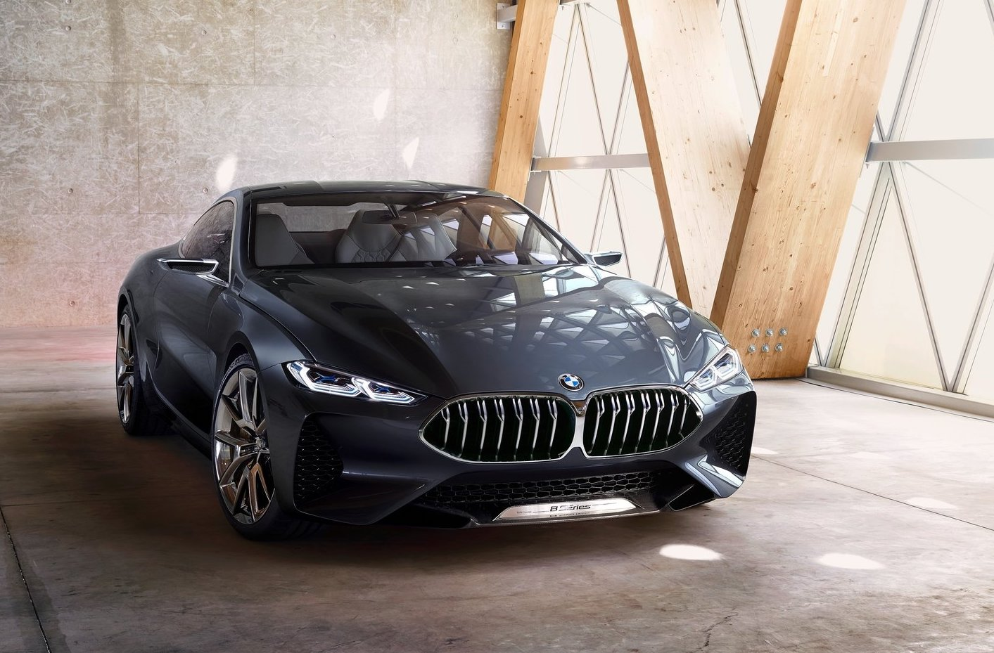 bmw 8 series gran coupe concept heading to geneva report performancedrive. Black Bedroom Furniture Sets. Home Design Ideas