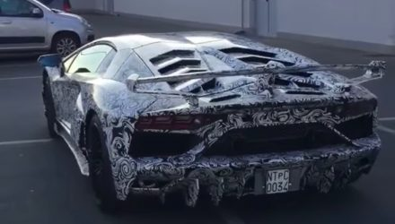 Lamborghini Aventador 'Jota' spotted with extreme aero kit (video)