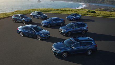 Subaru of America celebrates 50th birthday with special editions