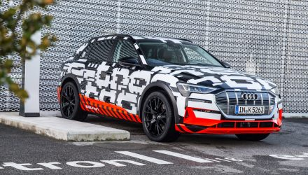 Audi e-tron quattro prototype previews Ingolstadt's electric SUV