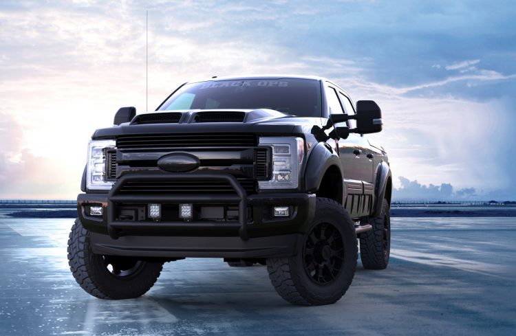 Ford F250 Towing Capacity >> 2018 Ford F-250 Tuscany Black Ops announced for Australia ...