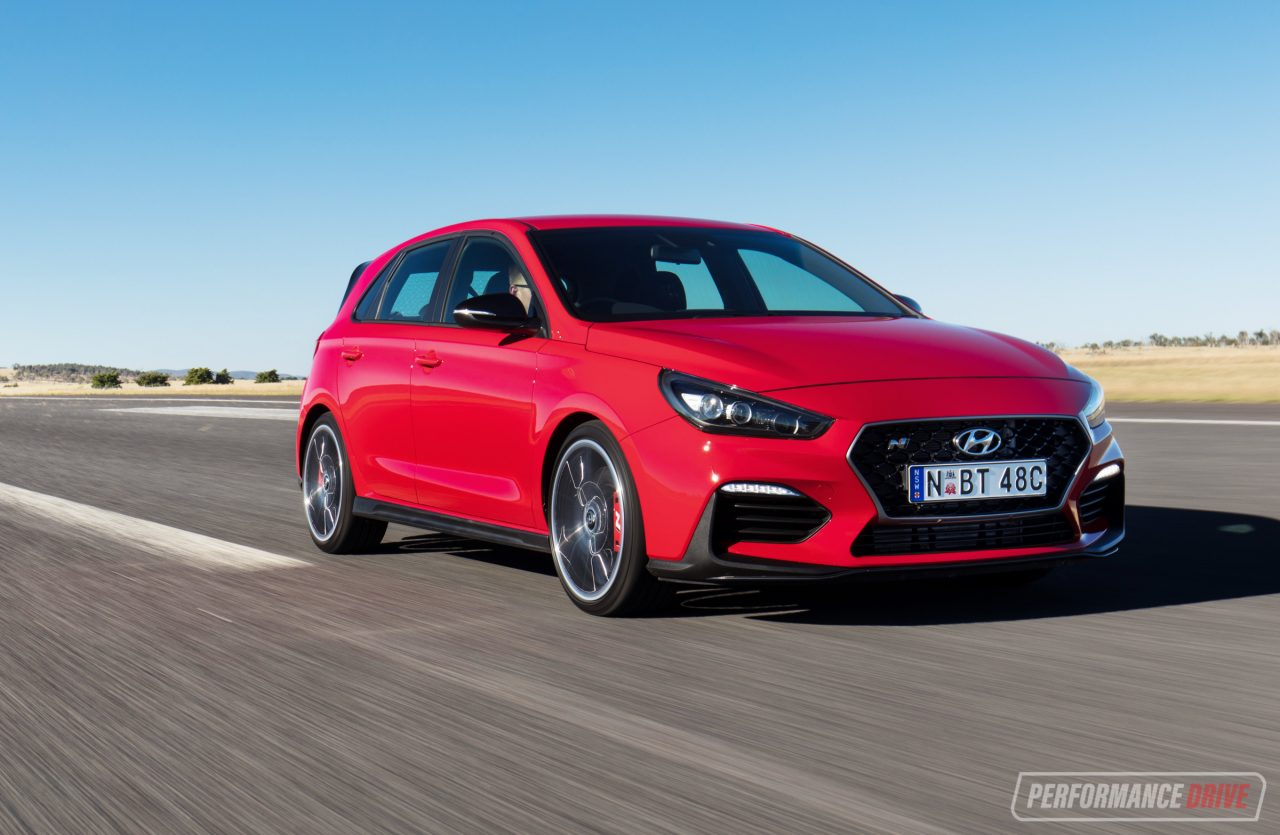2018 hyundai i30 n review australian launch video performancedrive. Black Bedroom Furniture Sets. Home Design Ideas