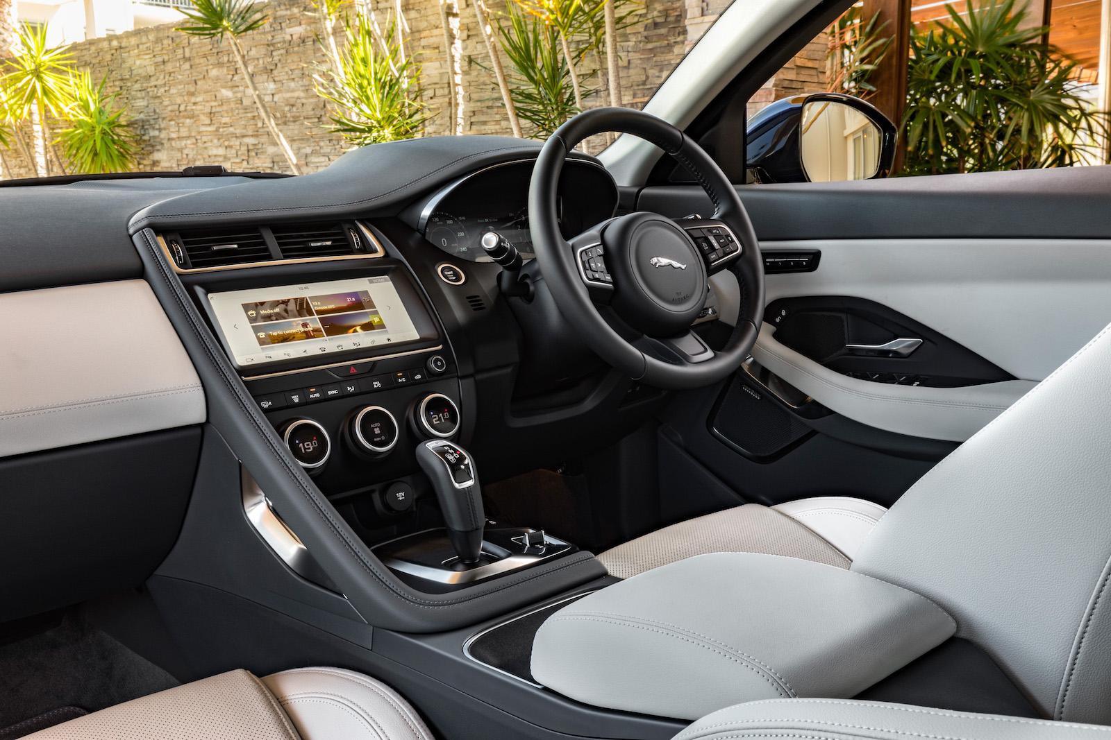 jaguar f pace svr packs a thunderous 542hp supercharged v8. Black Bedroom Furniture Sets. Home Design Ideas