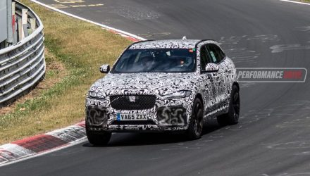Jaguar F-Pace SVR to finally debut at New York show – report