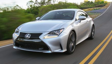 2018 Lexus RC 300 & 350 update now on sale in Australia