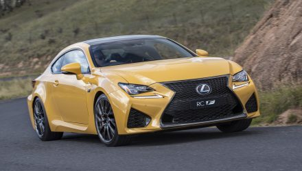 2018 Lexus RC F now on sale; gets Drive Start Control, added in-car tech
