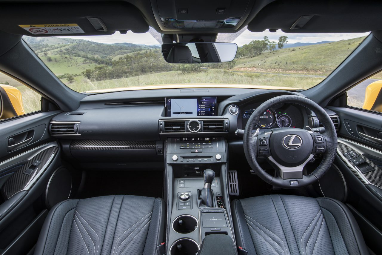 Lexus Rcf For Sale >> 2018 Lexus RC F now on sale; gets Drive Start Control ...