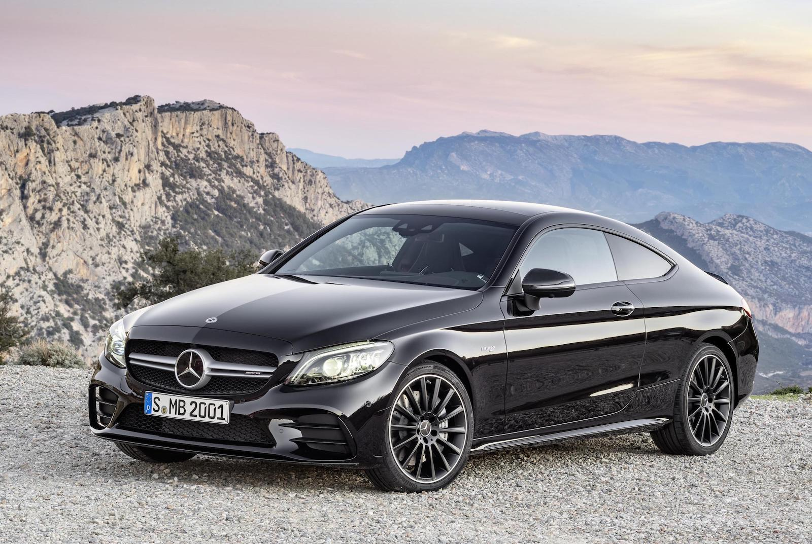 2018 mercedes amg c 43 coupe carbio get power boost. Black Bedroom Furniture Sets. Home Design Ideas