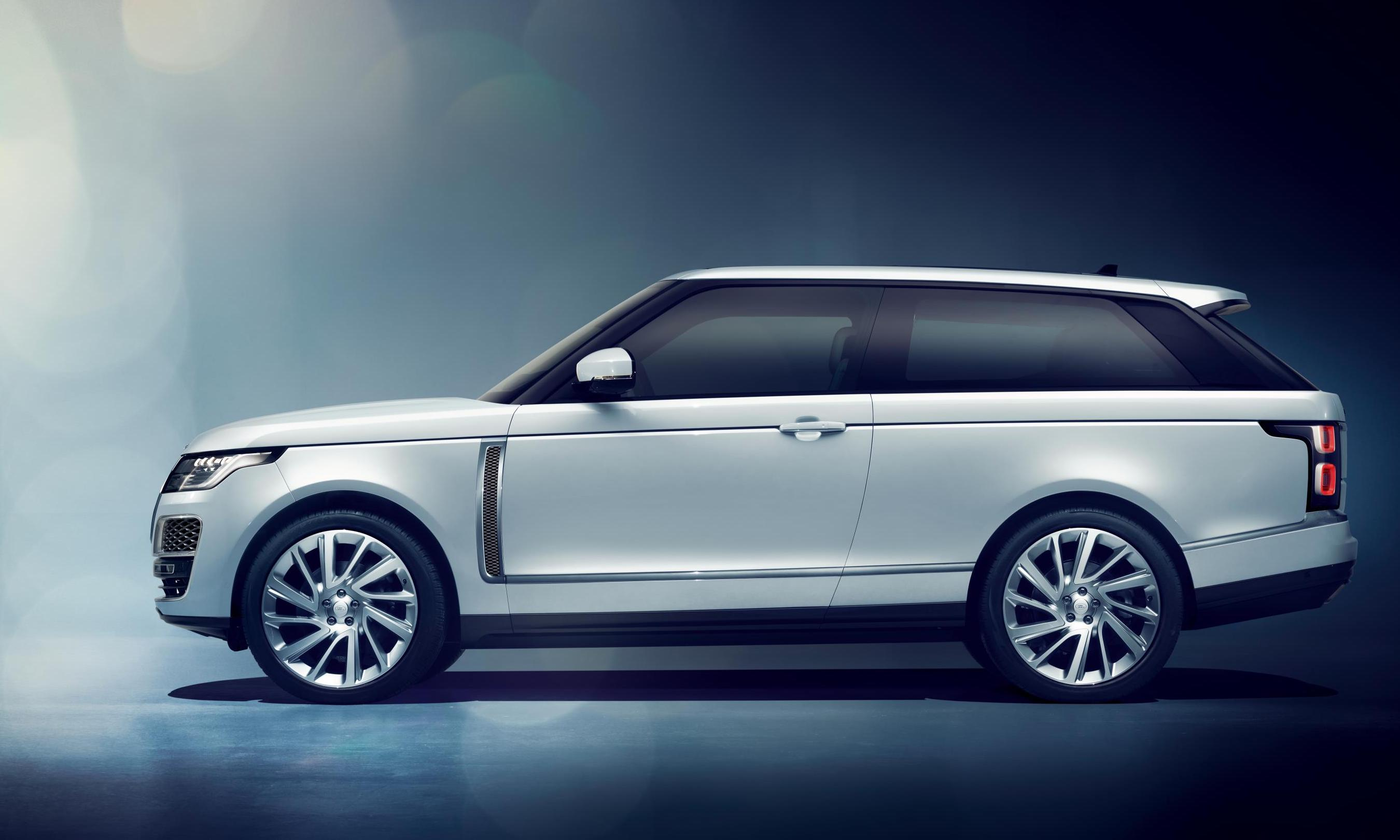 2018 Range Rover SV Coupe Revealed, Some Confirmed For