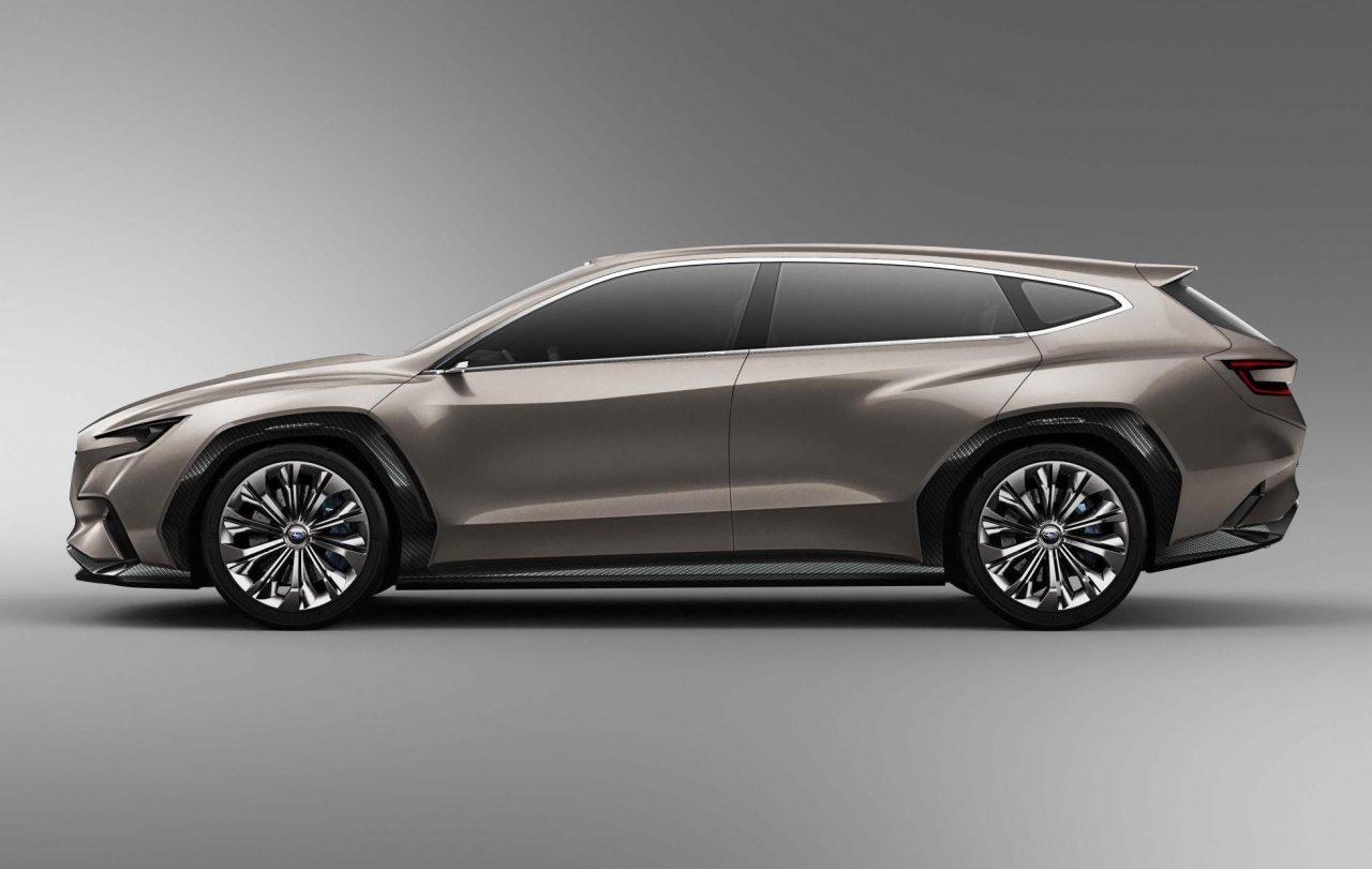 Subaru Outback Vs Forester >> Subaru VIZIV Tourer concept wows crowds at Geneva show   PerformanceDrive