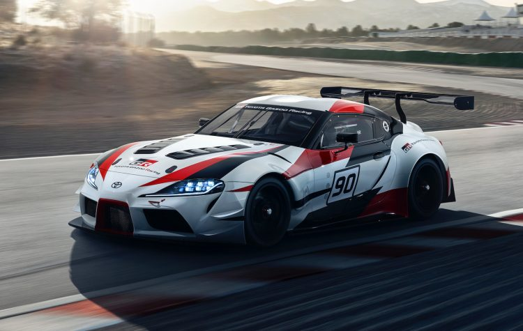 Toyota GR Supra Concept heralds the car's return after 16 years