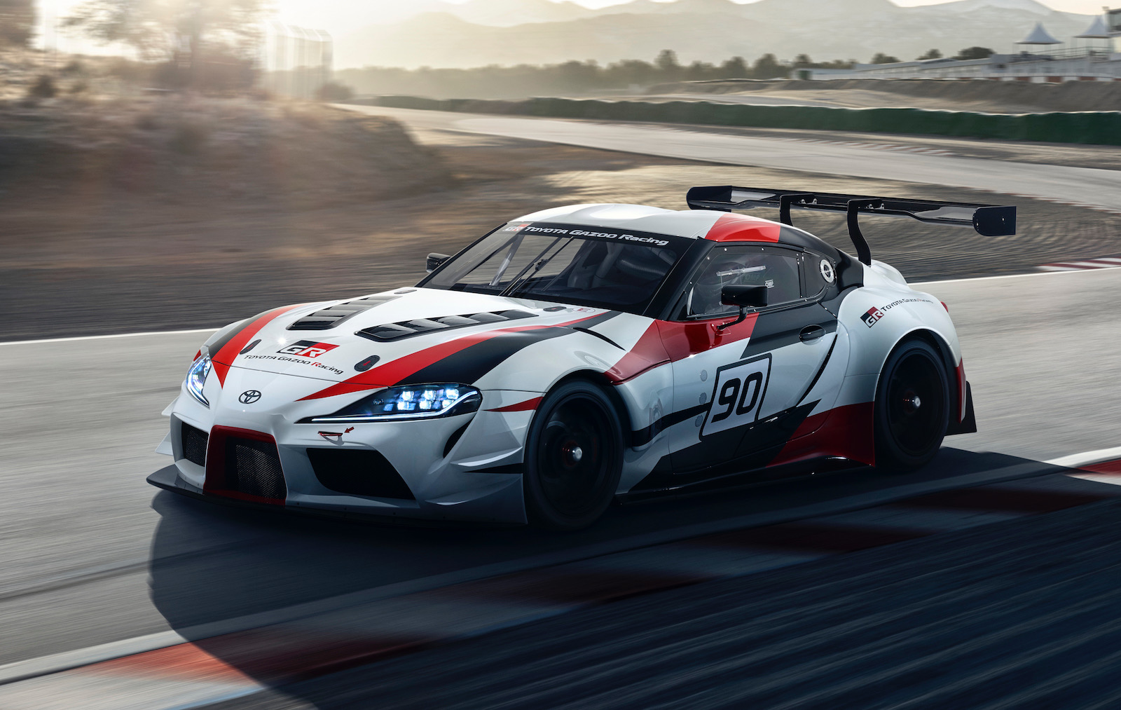 2018 toyota gr supra racing concept previews upcoming sports car performancedrive. Black Bedroom Furniture Sets. Home Design Ideas