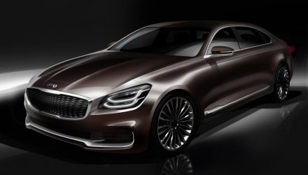 2019 Kia K900 luxury flagship redesign to debut at New York show