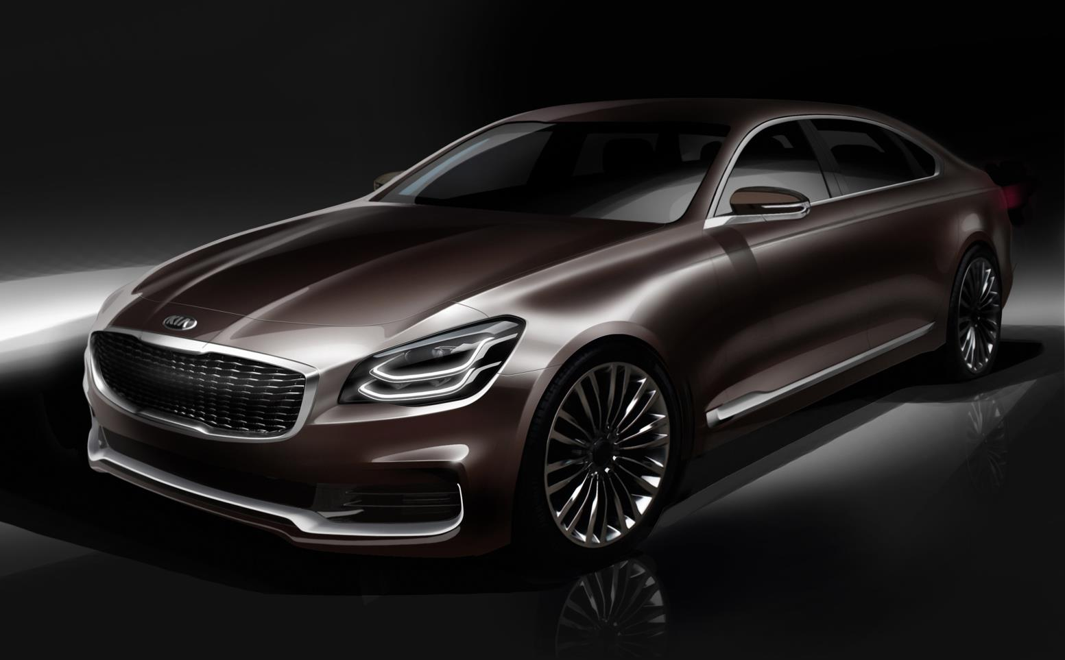 2019 Kia K900 Luxury Flagship Redesign To Debut At New York Show Performancedrive