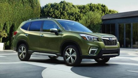 2019 Subaru Forester unveiled at New York auto show