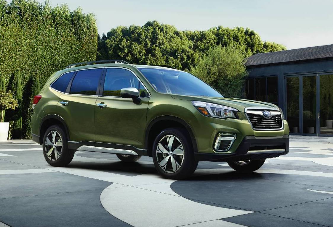 2019 subaru forester unveiled at new york auto show. Black Bedroom Furniture Sets. Home Design Ideas
