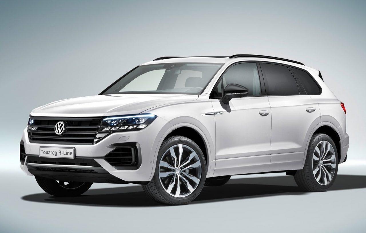 2019 volkswagen touareg unveiled gets 310kw v8 diesel performancedrive. Black Bedroom Furniture Sets. Home Design Ideas