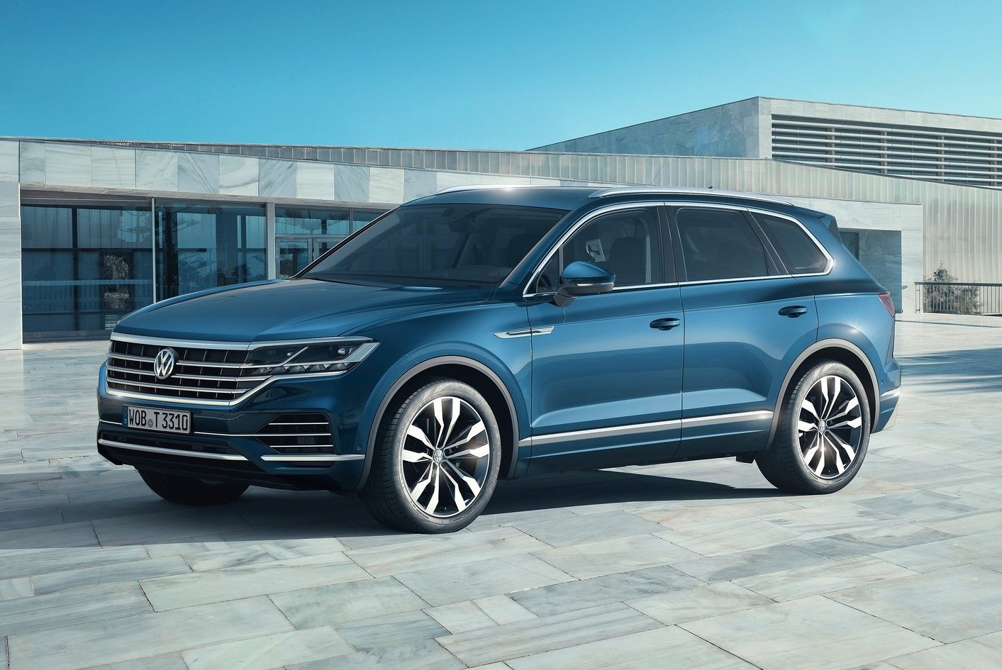2019 volkswagen touareg unveiled gets 310kw v8 diesel performancedrive. Black Bedroom Furniture Sets. Home Design Ideas