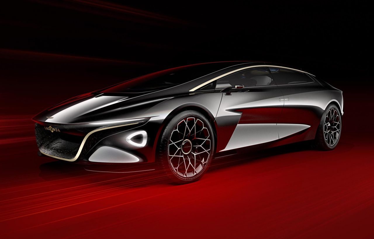 Lagonda Vision Concept Swoops Into Geneva From The Future
