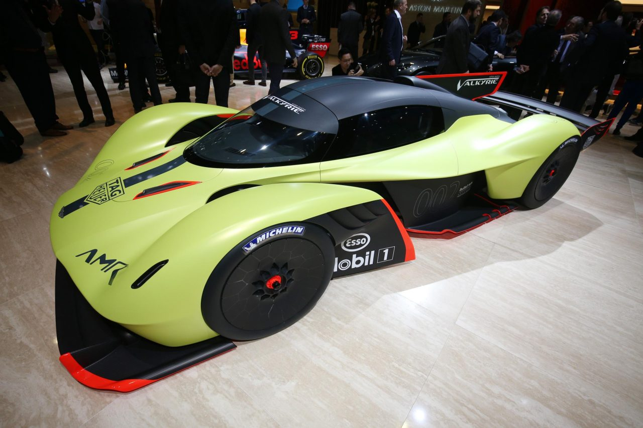 Aston Martin Valkyrie AMR Pro Lands In Geneva From Outer
