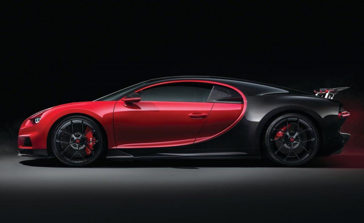 2018 bugatti chiron sport unveiled less weight better handling performancedrive. Black Bedroom Furniture Sets. Home Design Ideas