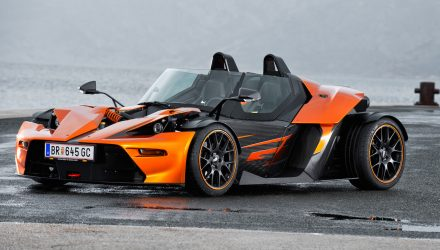 KTM X-Bow GT now available in Australia, adds windscreen
